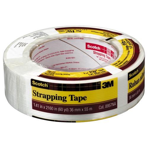 Sellotape Blanc Collant Fixers Strip 25mmx3m 484330 SE03796